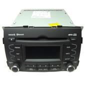 Kia Optima Radio Cd Player 96140-1U201CA Model A200XMUSB BT