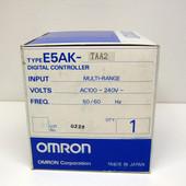Omron E5AK-TAA2 DIGITAL TEMPERATURE Controller E5AKTAA2 NEW