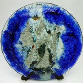 Legacy Handmade Glass Arts - Embeded Natural Colors - Antique  Decor - 121p