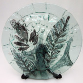 Legacy Handmade Glass Arts - Embeded Natural Colors - Antique  Decor - 130p