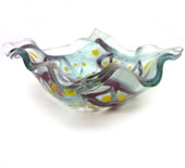 Legacy Handmade Glass Arts - Embeded Natural Colors - Antique  Decor - 159a