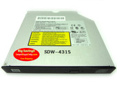 LITE-ON DVD/CD REWRITABLE LAPTOP DRIVE MODEL: SDW-431S DVD-RW BURNER