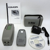 X-Rite 530 Komori Color Spectrophotometer Densitomet Excellent condition Xrite