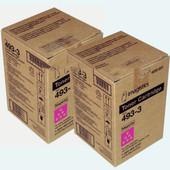 Oce Imagistics 493-3 Magenta Toner CM3520 CM3525 CM4520 CM4525 2Pack