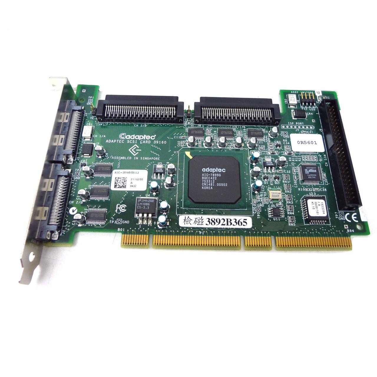 Dell Adaptec Dual U160-SCSI Controller ASC-39160-DELL