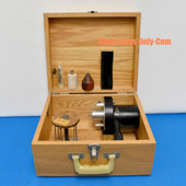 Brookfield Synchro-Lectric Viscometer Model RVF & Spindle Set in Case