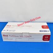 Oce 1070066410 Plotwave 500 Genuine OEM Toner 2 Bottles & waste Container