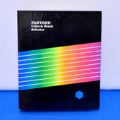 Pantone Color & Black Selector Guide Coated and UnCoated
