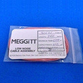 "Meggitt Endevco 3053V-240  240"" 500˚F Cap. 642 pF Low noise, high impedance, differential Cable Assembly"