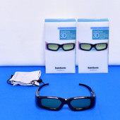 2x SainSonic 3D Universal Active Shutter Rechargeable Glasses 201107151-3