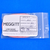 "Meggitt Endevco 3053V-240, 240"" 500˚F Cap. 621 pF Low noise high impedance differential Cable Assembly"