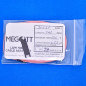 """Meggitt Endevco 3053V-240, 240"""" 500˚F Cap. 623 pF Low noise high impedance differential Cable Assembly"""