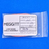 "Meggitt Endevco 3053V-240, 240"" 500˚F Cap. 627 pF Low noise high impedance differential Cable Assembly"