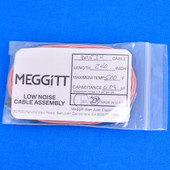 """Meggitt Endevco 3053V-240, 240"""" 500˚F Cap. 629 pF Low noise high impedance differential Cable Assembly"""