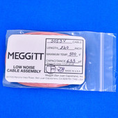 """Meggitt Endevco 3053V-240, 240"""" 500˚F Cap. 633 pF Low noise high impedance differential Cable Assembly"""