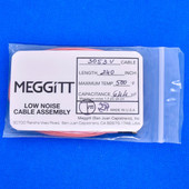 "Meggitt Endevco 3053V-240, 240"" 500˚F Cap. 644 pF Low noise high impedance differential Cable Assembly"