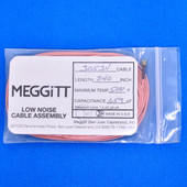 """Meggitt Endevco 3053V-240, 240"""" 500˚F Cap. 659 pF Low noise high impedance differential Cable Assembly"""