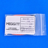 "Meggitt Endevco 3053V-120, 120"" 500˚F Cap. 300 pF Low noise high impedance differential Cable Assembly"