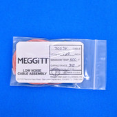"Meggitt Endevco 3053V-120, 120"" 500˚F Cap. 310 pF Low noise high impedance differential Cable Assembly"