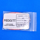 "Meggitt Endevco 3053V-120, 120"" 500˚F Cap. 311 pF Low noise high impedance differential Cable Assembly"
