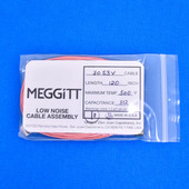 "Meggitt Endevco 3053V-120, 120"" 500˚F Cap. 312 pF Low noise high impedance differential Cable Assembly"