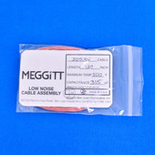 """Meggitt Endevco 3053V-120, 120"""" 500˚F Cap. 315 pF Low noise high impedance differential Cable Assembly"""