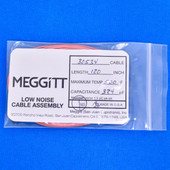 """Meggitt Endevco 3053V-120, 120"""" 500˚F Cap. 324 pF Low noise high impedance differential Cable Assembly"""