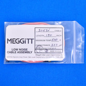 "Meggitt Endevco 3053V-120, 120"" 500˚F Cap. 327 pF Low noise high impedance differential Cable Assembly"