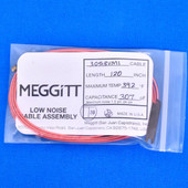 """Meggitt Endevco 3053VMI-120, 120"""" 392˚F Cap. 307 pF Low noise high impedance differential Cable Assembly"""