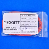 "Meggitt Endevco 3053VMI-120, 120"" 392˚F Cap. 308 pF Low noise high impedance differential Cable Assembly"
