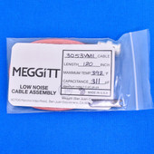 "Meggitt Endevco 3053VMI-120, 120"" 392˚F Cap. 311 pF Low noise high impedance differential Cable Assembly"
