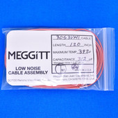 "Meggitt Endevco 3053VMI-120, 120"" 392˚F Cap. 312 pF Low noise high impedance differential Cable Assembly"