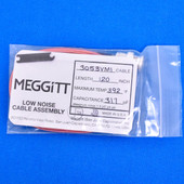 """Meggitt Endevco 3053VMI-120, 120"""" 392˚F Cap. 317 pF Low noise high impedance differential Cable Assembly"""