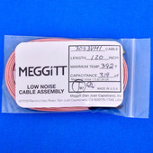 "Meggitt Endevco 3053VMI-120, 120"" 392˚F Cap. 319 pF Low noise high impedance differential Cable Assembly"