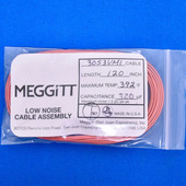 "Meggitt Endevco 3053VMI-120, 120"" 392˚F Cap. 320 pF Low noise high impedance differential Cable Assembly"