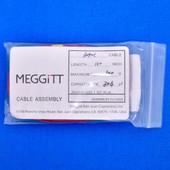 "Meggitt Endevco 3090C-120, 120"" 500˚F Cap. 304 pF Low Noise Coaxial Cable Assembly"