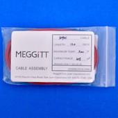 "Meggitt Endevco 3090C-120, 120"" 500˚F Cap. 305 pF Low Noise Coaxial Cable Assembly"