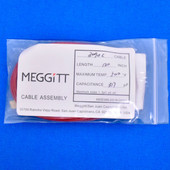"Meggitt Endevco 3090C-120, 120"" 500˚F Cap. 317 pF Low Noise Coaxial Cable Assembly"