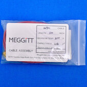 "Meggitt Endevco 3090C-120, 120"" 500˚F Cap. 326 pF Low Noise Coaxial Cable Assembly"