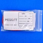 "Meggitt Endevco 3090C-120, 120"" 500˚F Cap. 336 pF Low Noise Coaxial Cable Assembly"