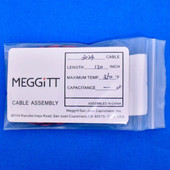 "Meggitt Endevco 3024-120, 120"" 350˚F low impedance piezoelectric accelerometers"