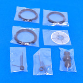 X-Rite 939 Target accessories Kit (3x) Target Window Ring - (2x) Target Window (3x) Aperture Protection kit
