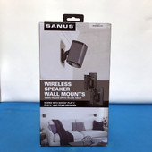 Sanus Wireless Speaker Wall Mounts WSWM2-B1 SONOS Play:1 Play:3