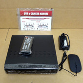 MVPower TV-7104HE USEX39510 W/ 1 TB HD CCTV DVD 4 Channels H.264 Network DVR NU