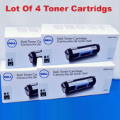Dell FR3HY, 593-BBYO Black Toner 3000 Pgs S2830 ser. S2830dn Printer {4 Boxes}
