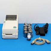 Zebra Eltron TLP 2722 label printer monochrome  thermal transfer w/ 11x Ribbons
