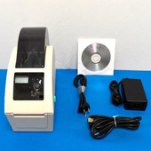 "TSC DT039-50W WRISTBAND PRINTER, 203Dpi 2""W HOLDS UP TO 6.5"" OD WRISTBANDS"