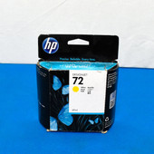 HP 72 C9400A Yellow Ink DesignJet T610 T620 T770 T1100 T1200 T1300 T790 T2300