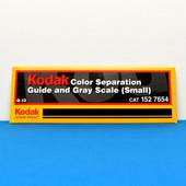 Kodak Q-13 152 7654 Kodak Color Separation & Gray Scale Guide New,