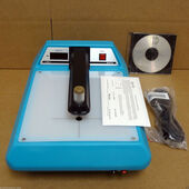X-rite 301 Transmission Densitometer Calib Strip manual Model Xrite 1Blue